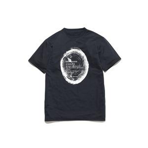 ウッドカットプリントティーシャツ