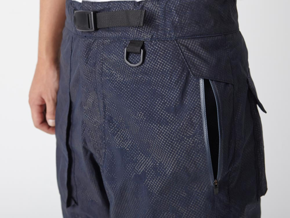 Indigo C/N  Anorak Shorts (Print)5