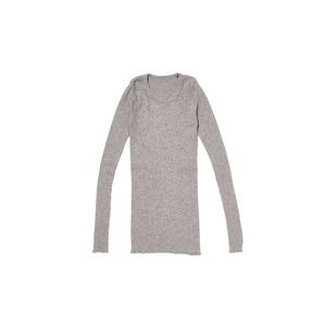 W's Yak/Cotton Rib Shirt 1 M.Grey