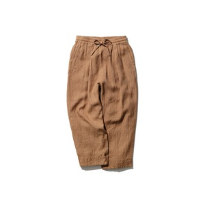 Hand-woven Wild Silk Pants 2 Natural