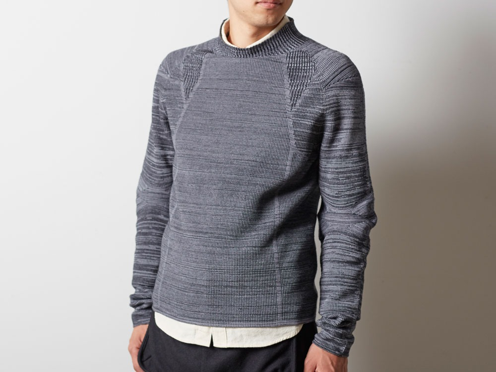 WG Stretch Knit Pullover #2 1 Grey4