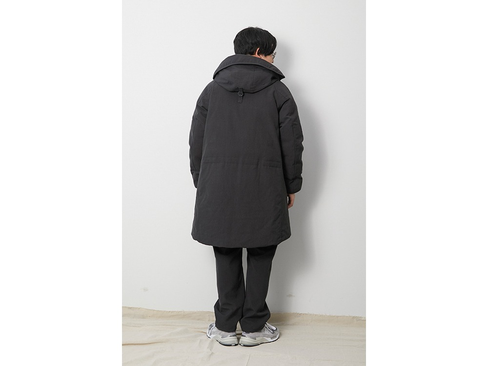 TAKIBI Down Coat XL Brown