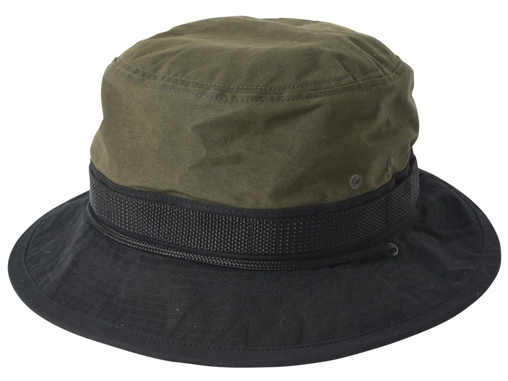 Paraffin Wax Safari Hat 1 Khaki0