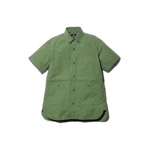 コットンリップストップシャツ
