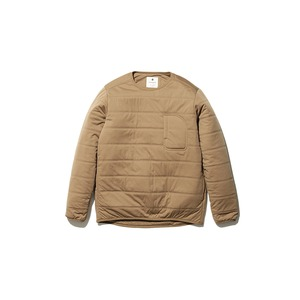 Flexible Insulated Pullover M Brown