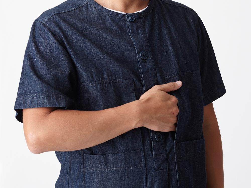 Dungaree Field S/Sleeve 2 Indigo6
