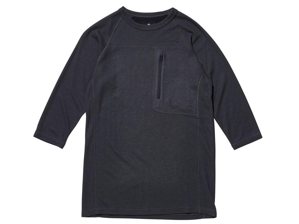 Wool Tactical Raglan Sleeve L Black0