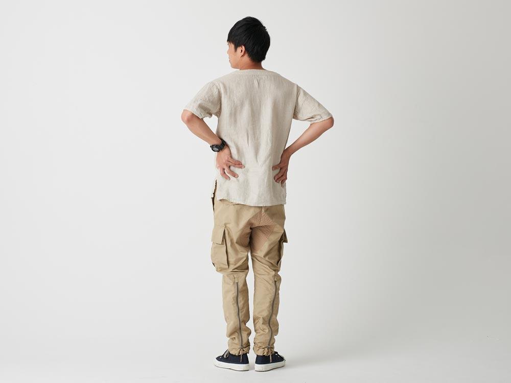 Linen Waffle Tshirt M Natural3