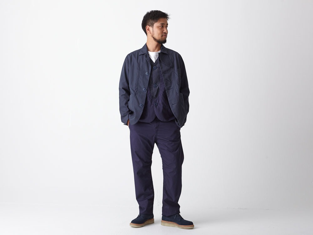 Ventile 3piece Pants #2 L Navy2