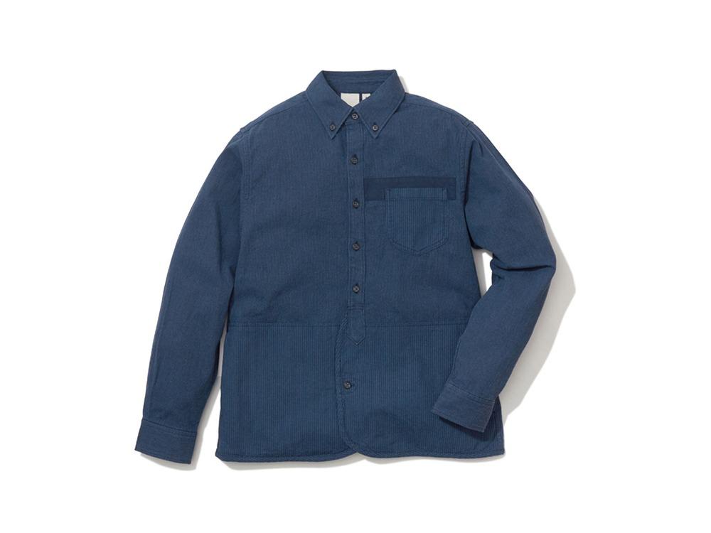 現代のワークシャツ  XL Navy