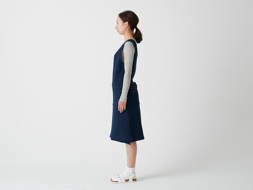 Dobby Denim Dress 1 Ecru2