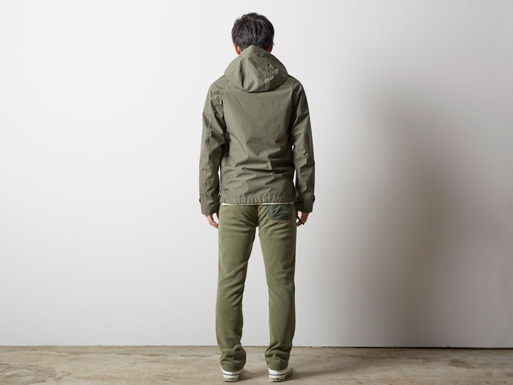 FR Rain Pullover M Olive3