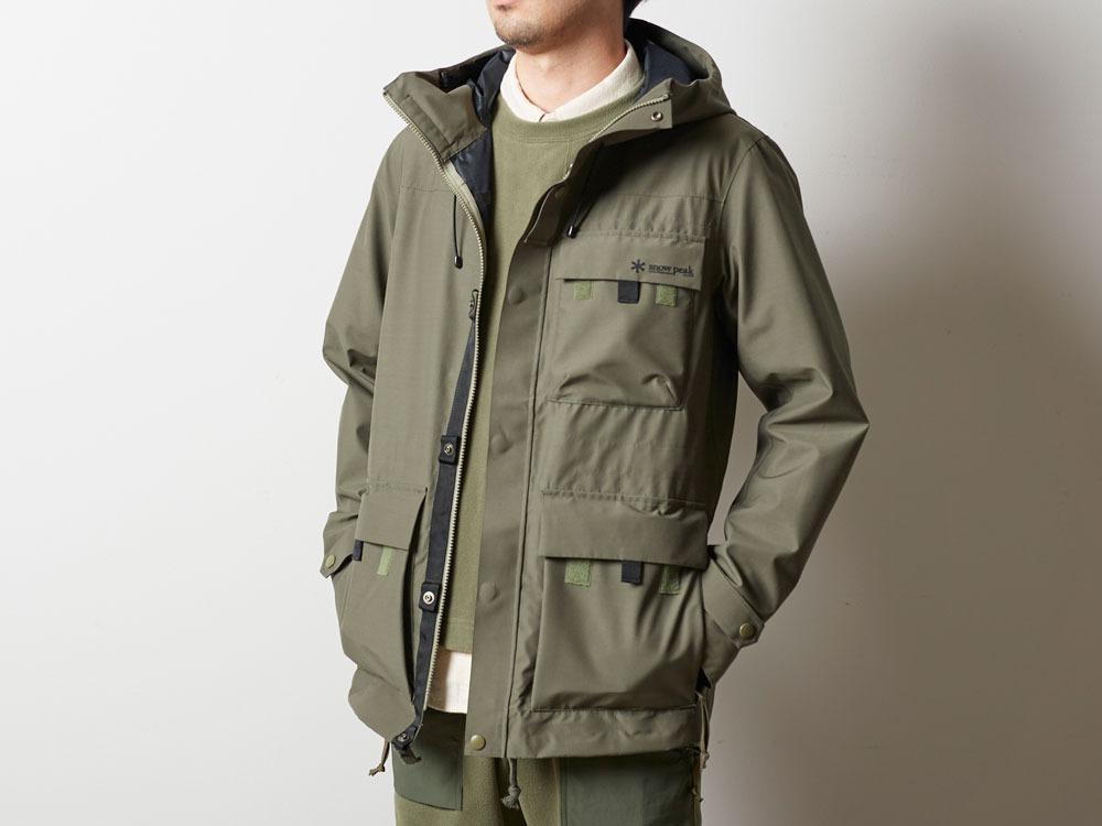 FR Rain Jacket M Olive4