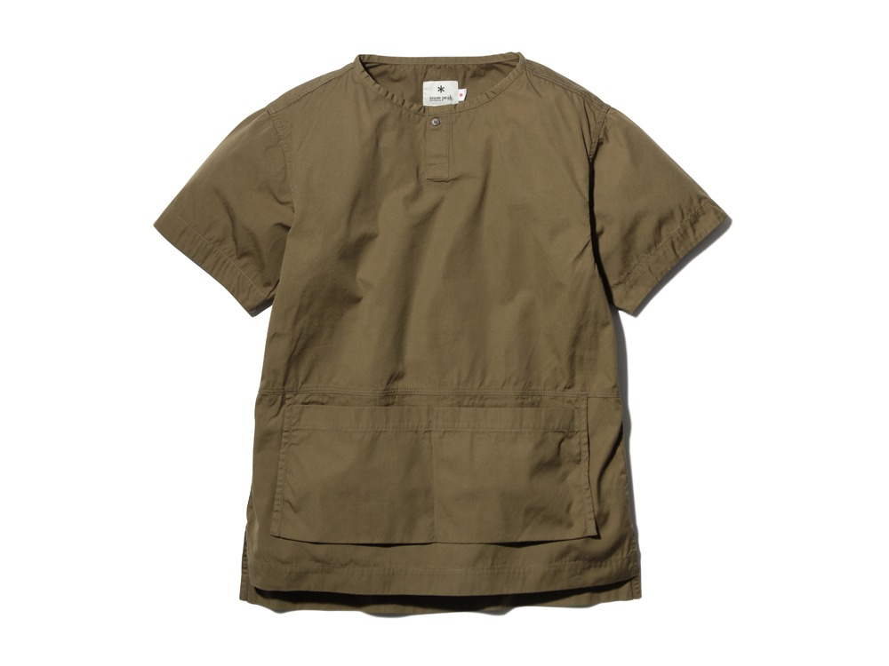 SailorClothAplonShirt L Brown0
