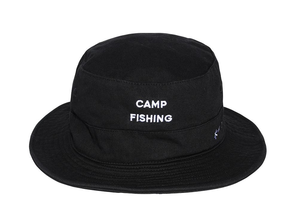 CAMPFISHING HAT ブラック フリー