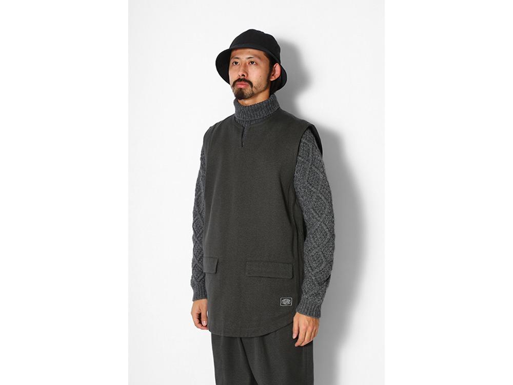 TAKIBI C/W Serge Vest M Charcoal