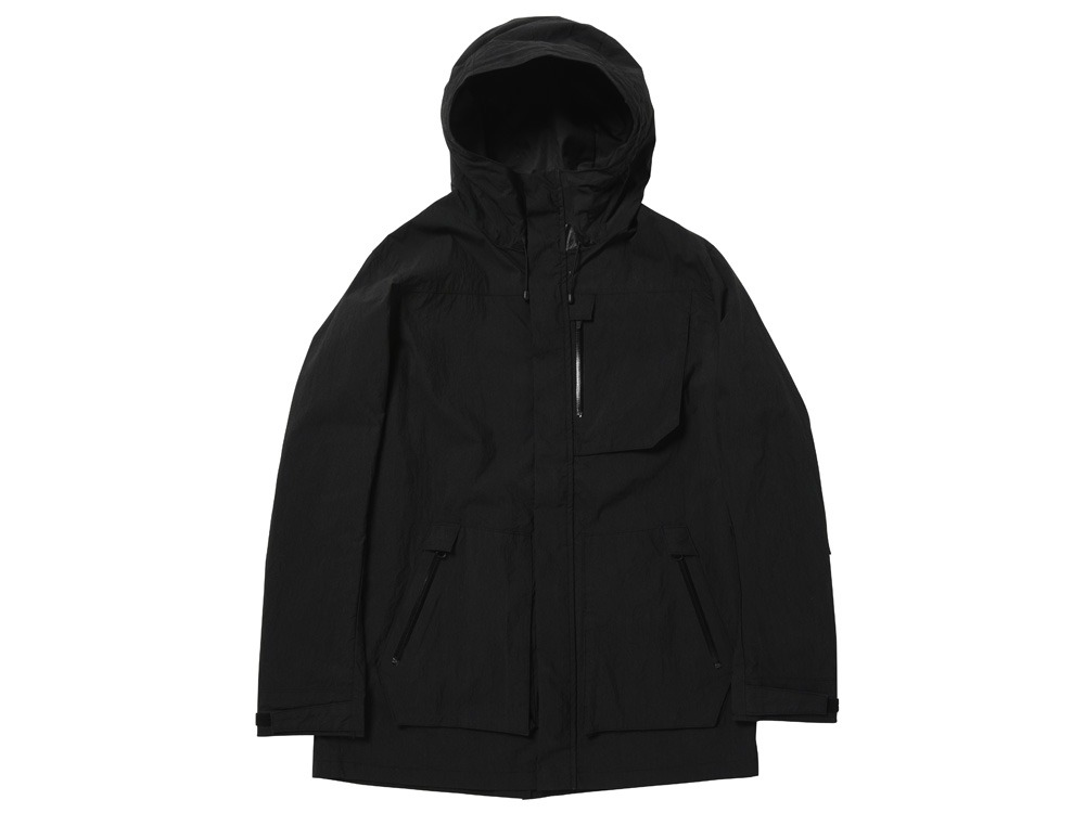 Indigo C/N Mountain Parka  XL Black0