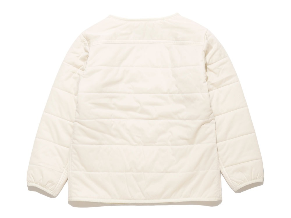 Kids Flexible Insulated Cardigan  4 white1