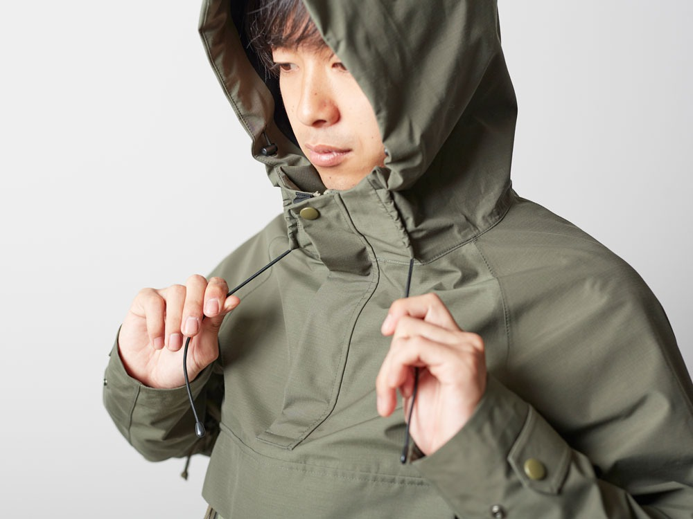 FR Rain Pullover M Olive8