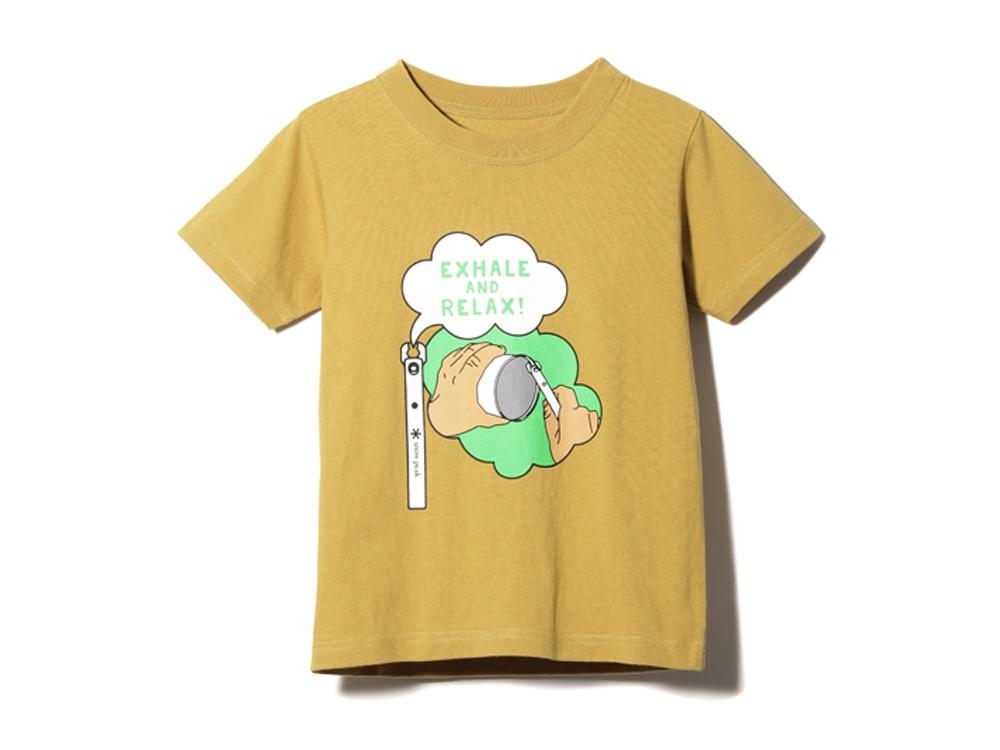 キッズ クワガタ Tシャツ 1 マスタード