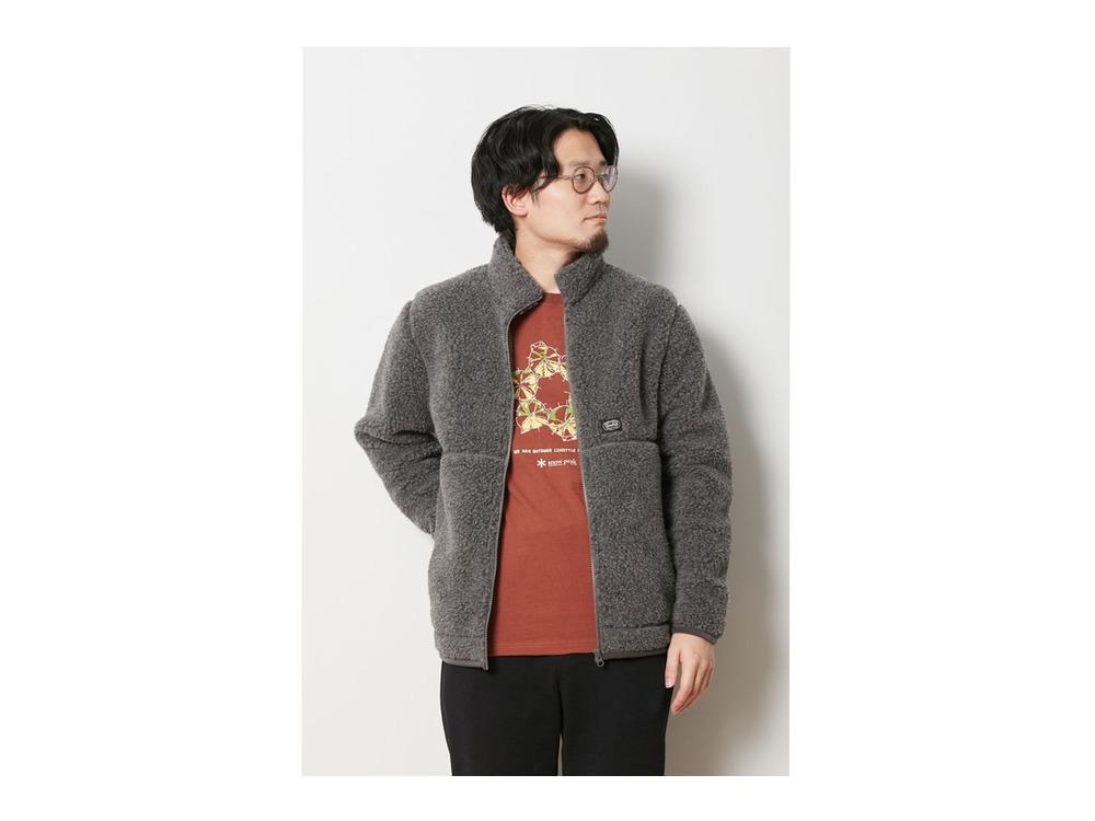 Wool Fleece Jacket 1 Brown