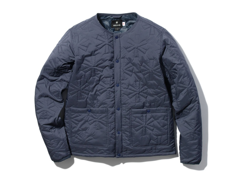 Quilting puff Jacket L Navy0