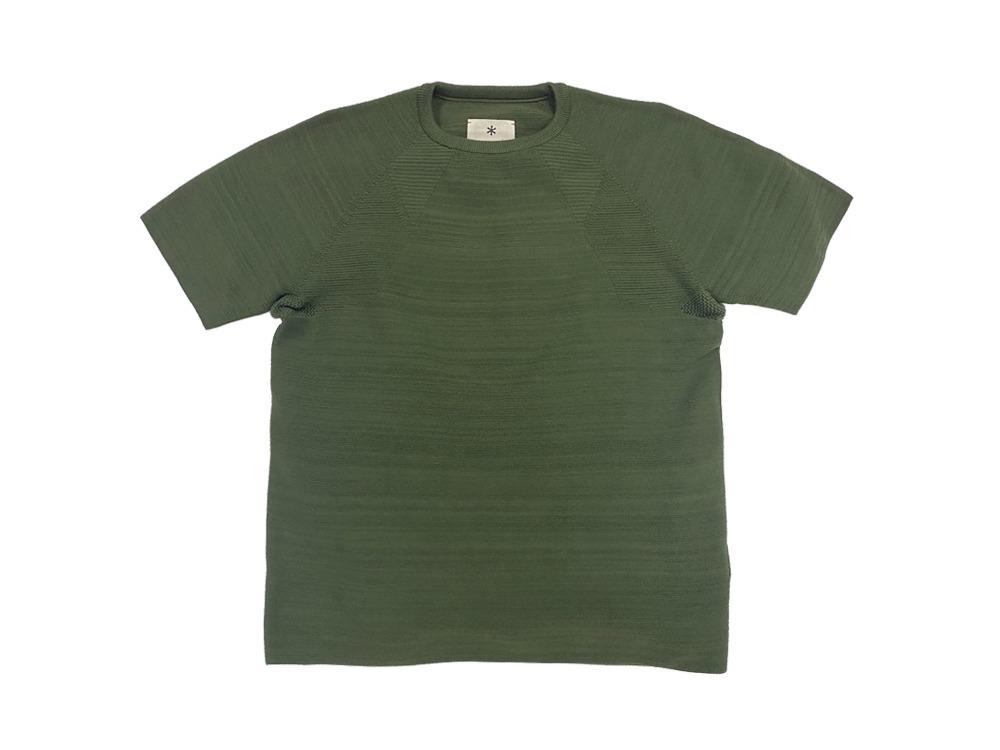 WG Stretch Knit Tshirt L Khaki