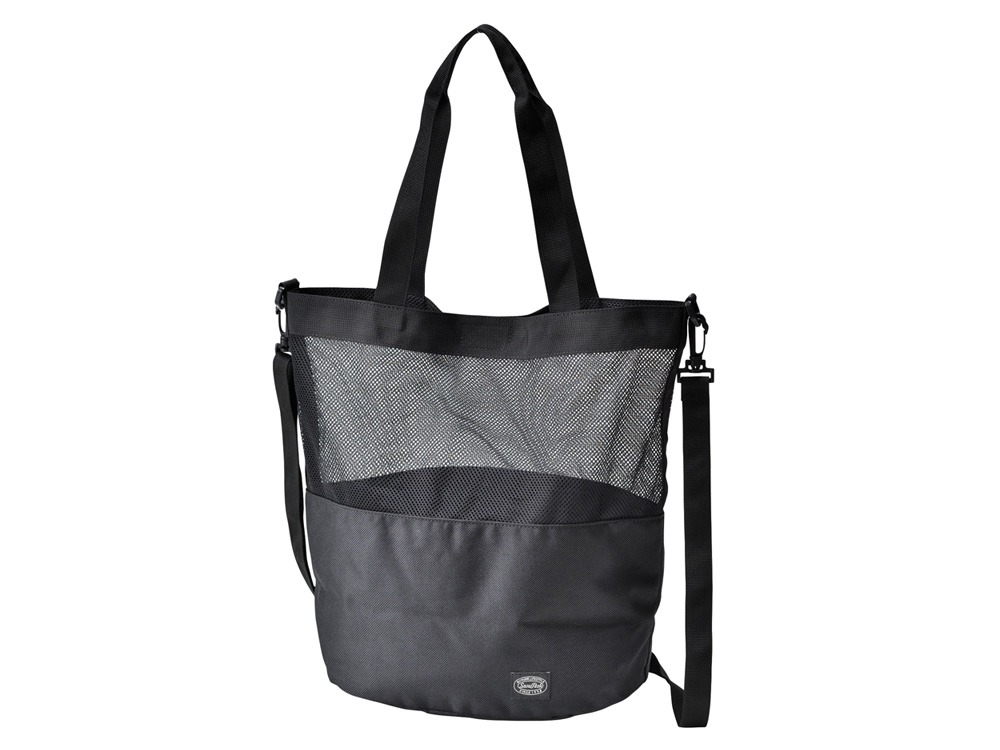 Active Mesh 2way Shoulder Bag Black0