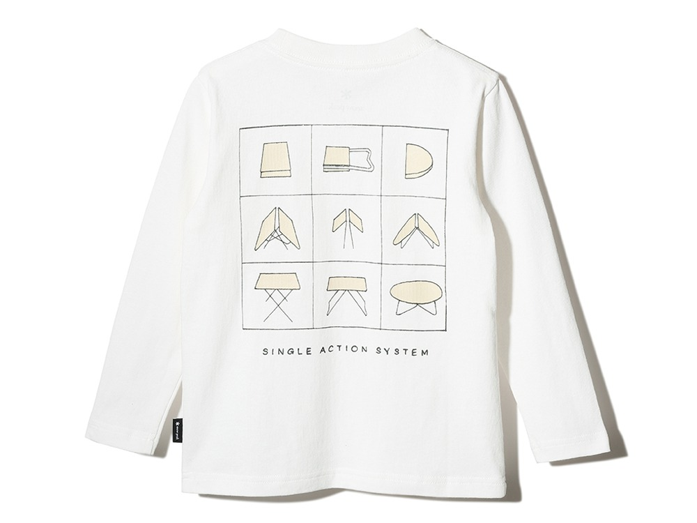 Kid's Printed L/S T SingleActionSystem 1 WH