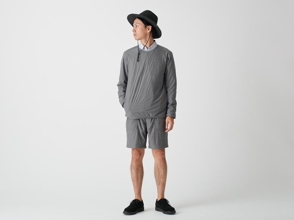 FlexibleInsulated Pullover L White1