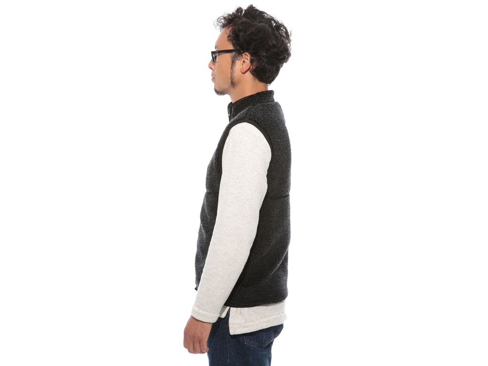 Soft Wool Fleece Vest XL Charcoal3