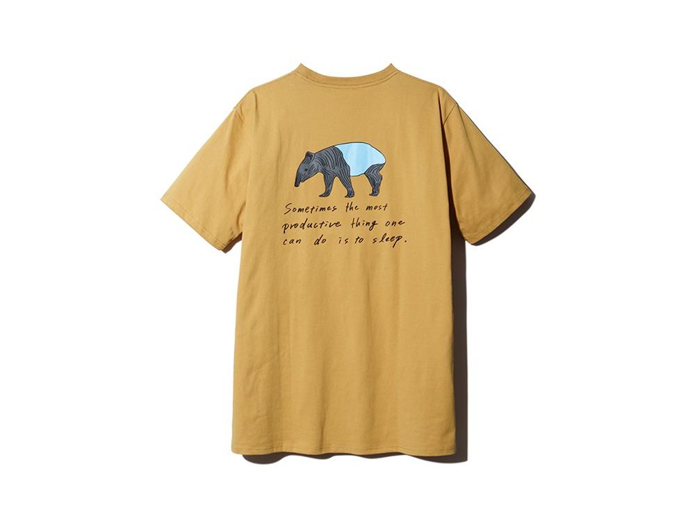Printed Tshirt Bacoo M Mustard