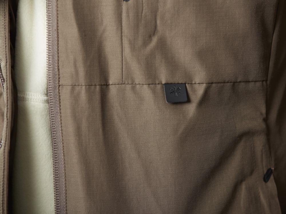 FR(ファイヤーレジスタンス)ダウンジャケット M ブラック