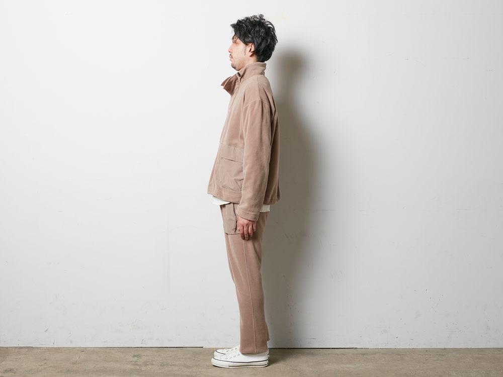 R/Pe Fleece Pullover M Brown2