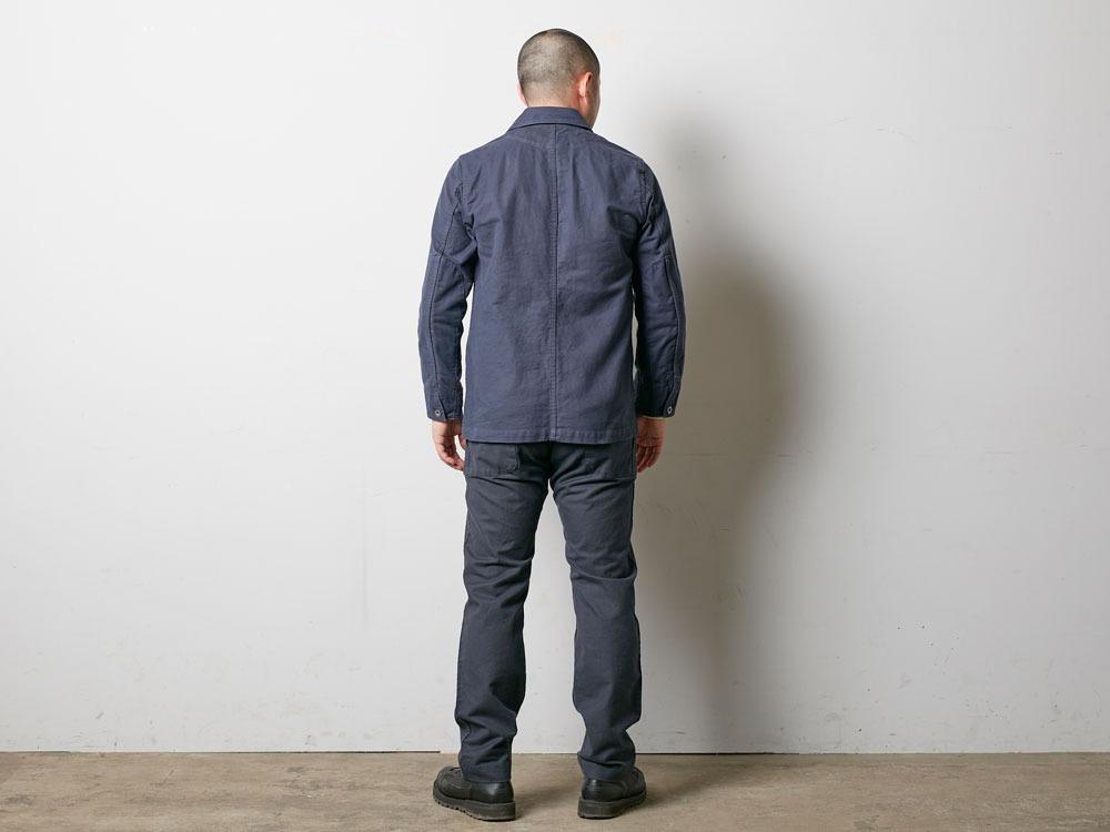 TAKIBI Coverall Jacket S Olive4