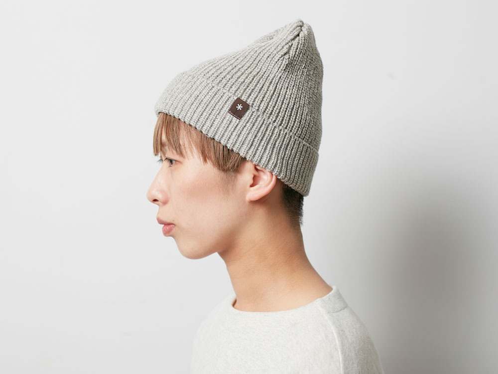 Wool Watch Cap Brown1