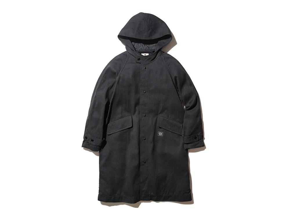 TAKIBI C/W Serge Coat M Charcoal