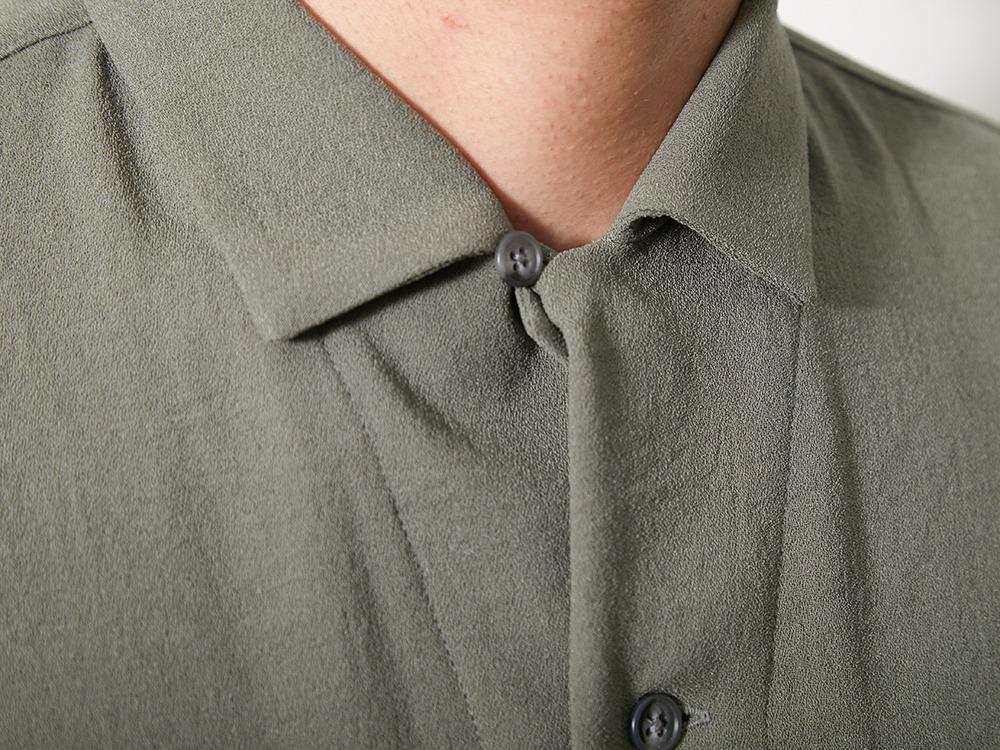 QuickDry Crepe Weave Soft Shirt XL BK