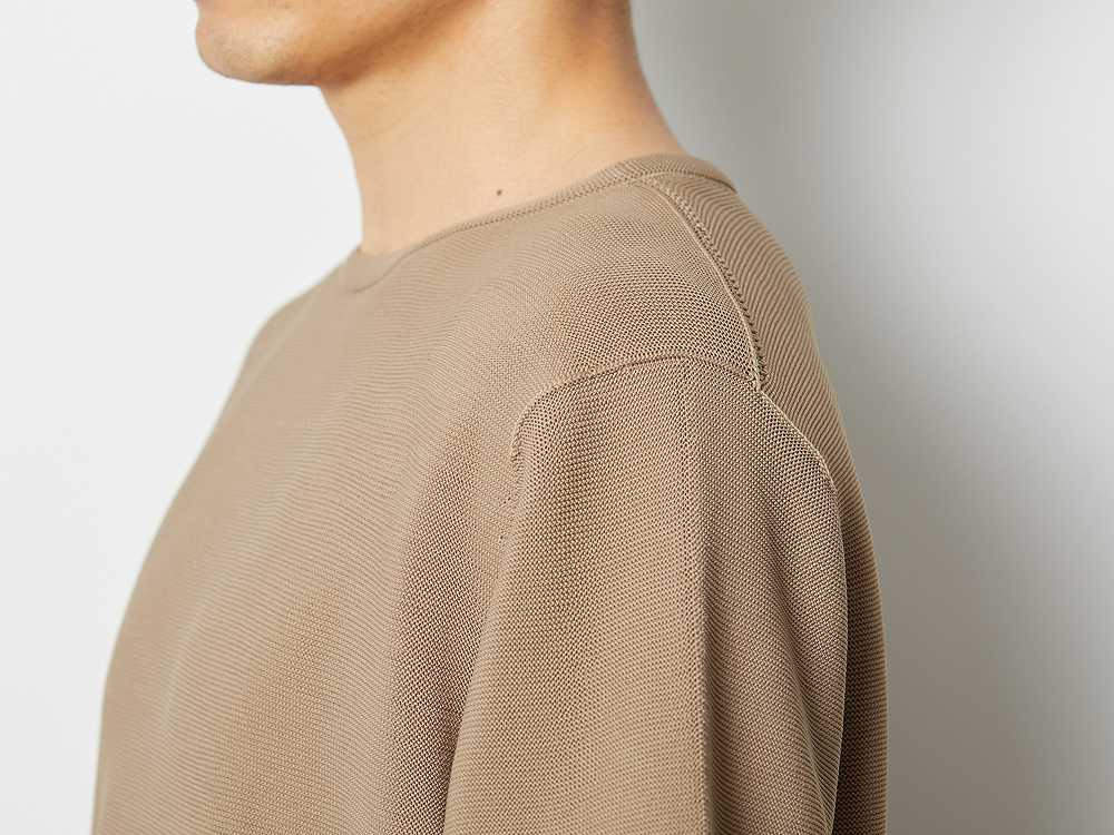ホールガーメント Tシャツ L ベージュ