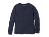 スーパー 100ウールシャツ M ネイビー