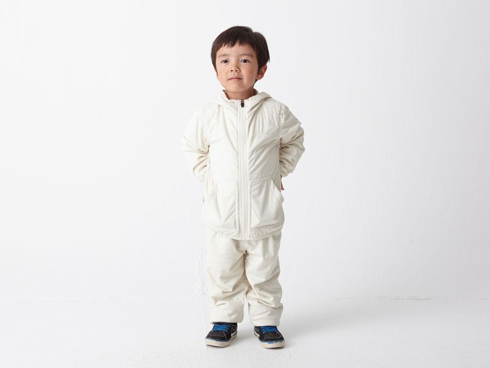 Kids Flexible Insulated Hoodie 2 White1