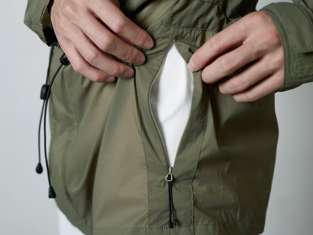 Rain&WindResistantJacket L Olive9