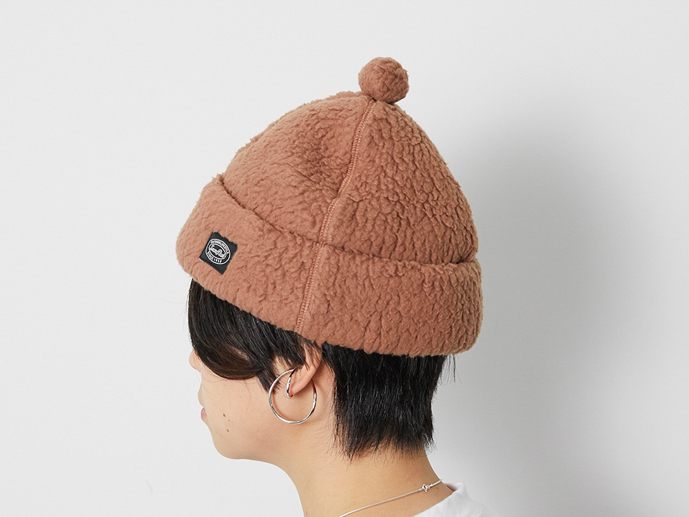 Thermal Boa Fleece cap One Brown