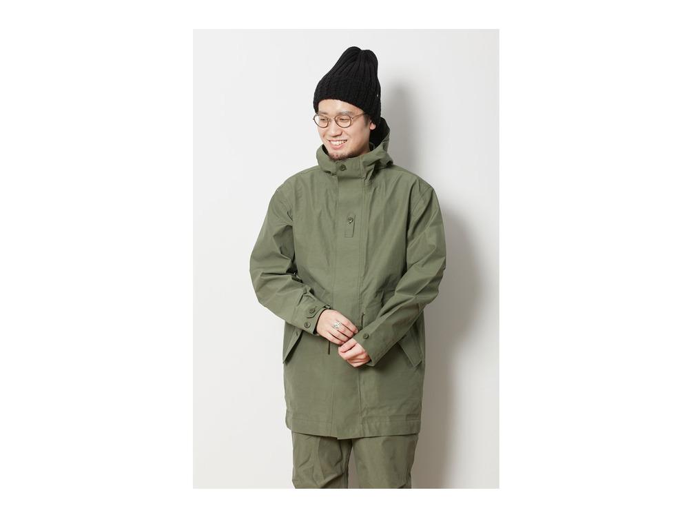 eVent C/N Rain Jacket L Olive