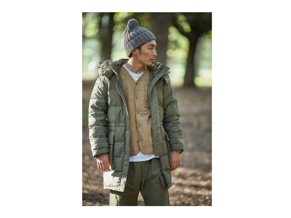 Flexible Insulated Cardigan L Olive