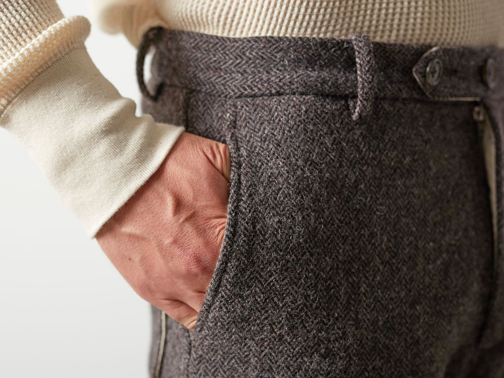 Camping Wool Pants 2 Grey7