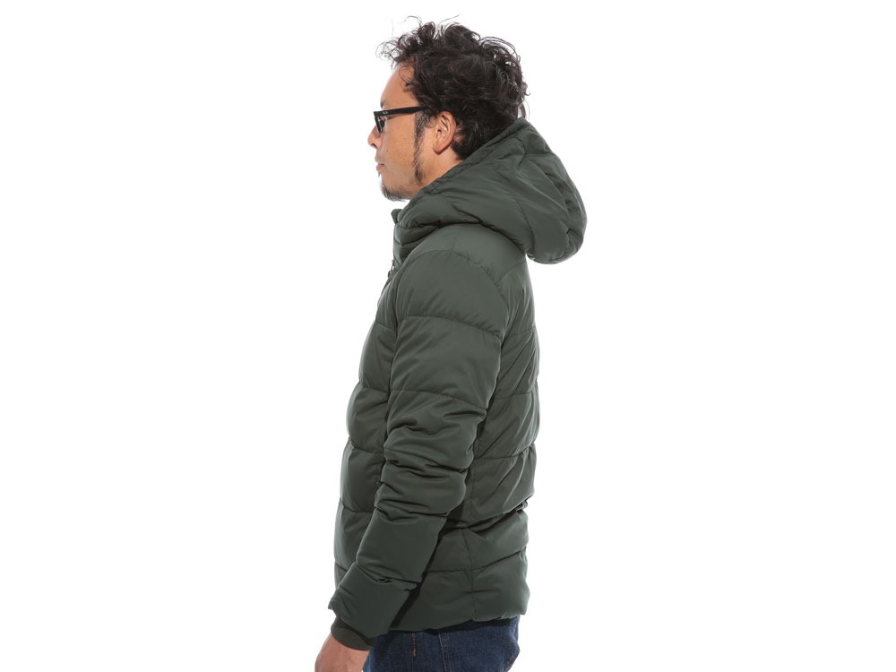 Pillow  Down HoodieS Green3