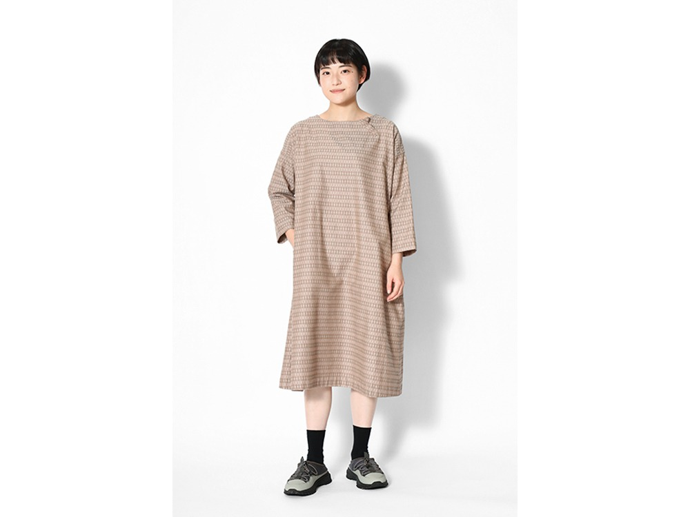 Cotton Dobby Dress 1 Black