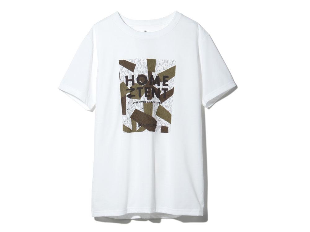 レインカモフラージュティーシャツ M ホワイト