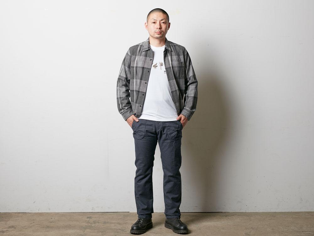TAKIBI Pants XL Black1